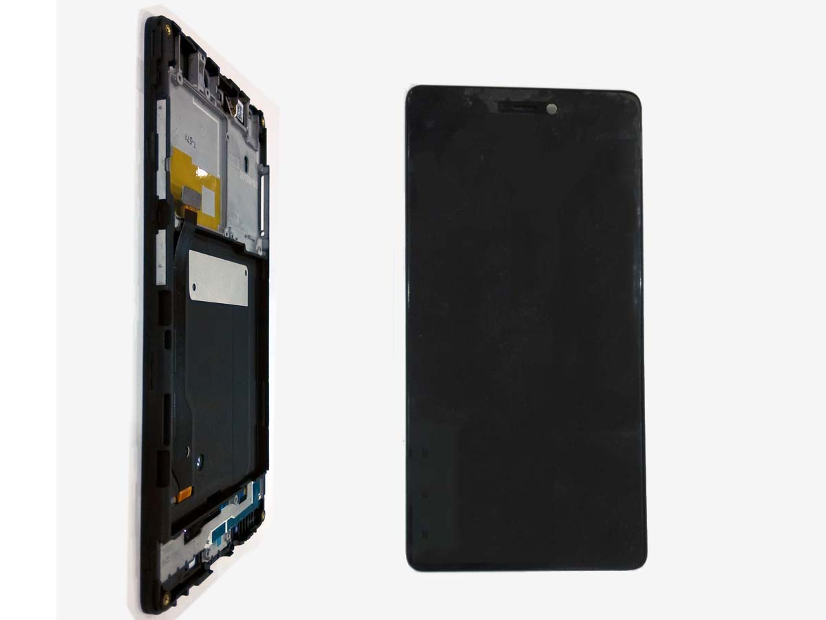 Original LCD Touch Screen Digitizer Assembly with front Housing for Xiaomi 4C
