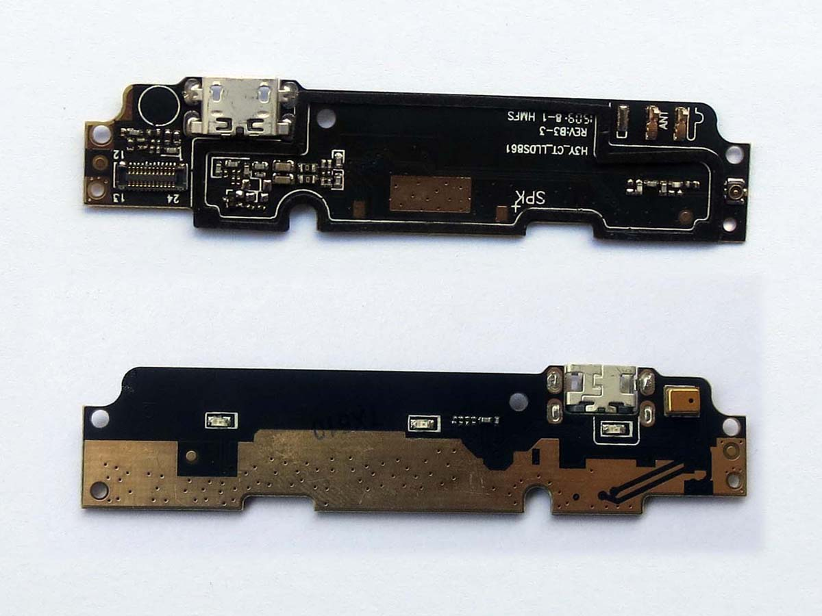 Redmi Note 2 Original Kabel Data Xiaomi Micro Usb 3 4 Plug Charge Board Flex Cable For