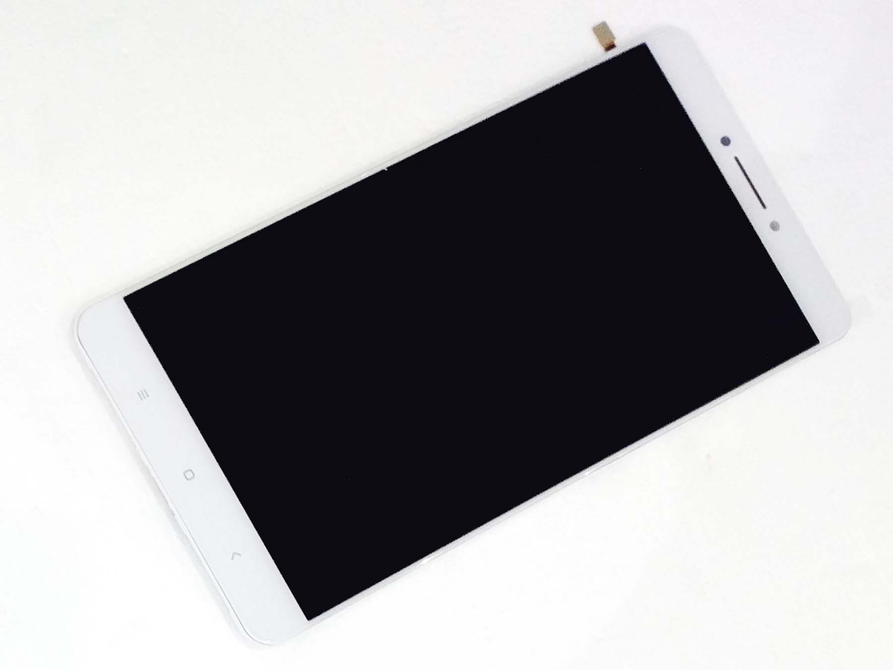 Original LCD + OEM Touch Screen Assembly with Front housing for xiaomi max –White