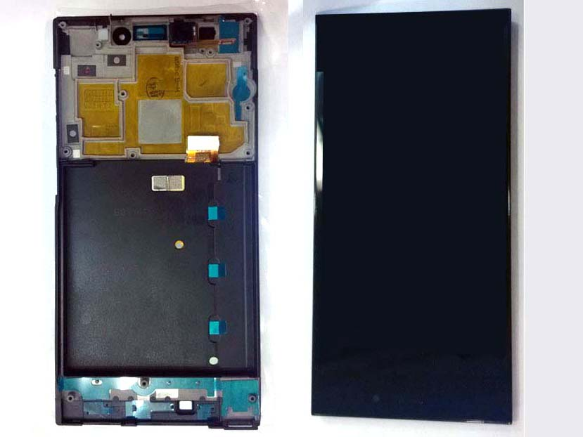 Original WCDMA Complete screen with front housing for xiaomi 3 MI3 Black