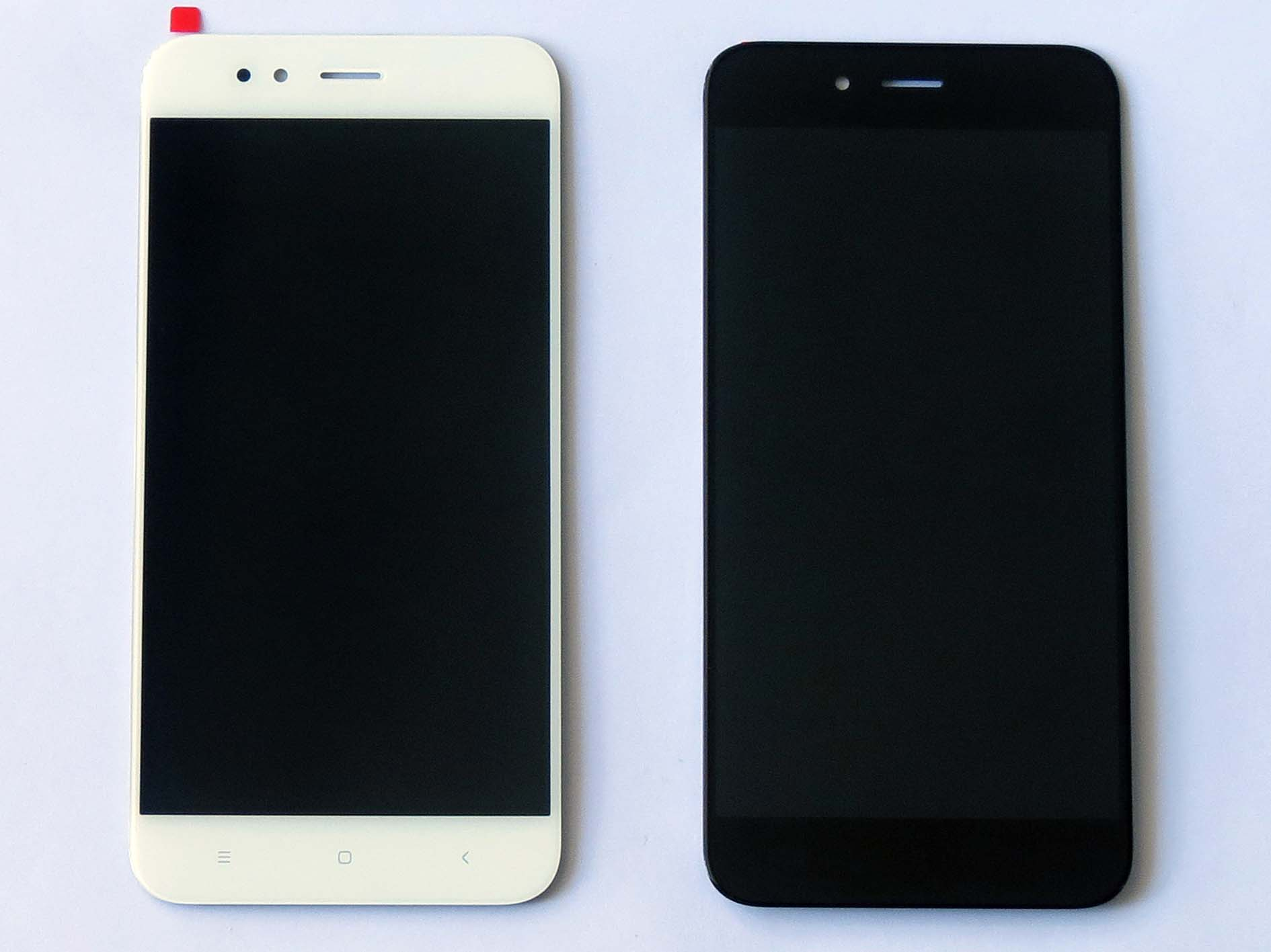 Original LCD Screen and Touch Screen Assembly for Xiaomi 5x & A1 Black & White