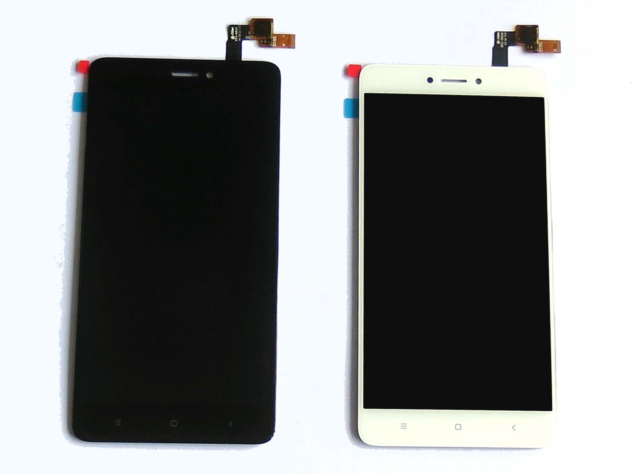 1bed06e9d Original LCD Touch Screen Digitizer Assembly for Snapdragon version Redmi  note 4X – Black   White